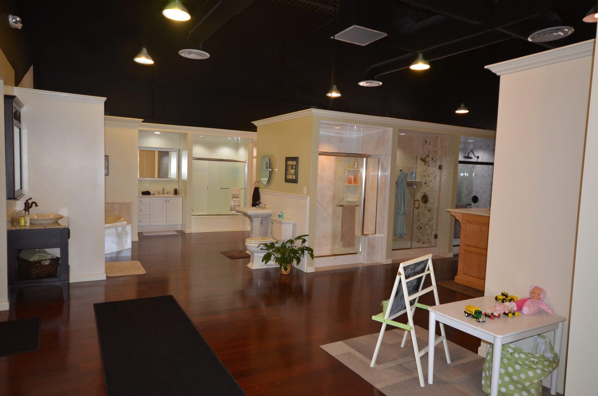 Bathroom remodeling showroom archives luxury bath for Bath remodel columbus ohio