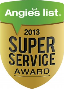 Columbus Bath Design Angie's List Super Service Award