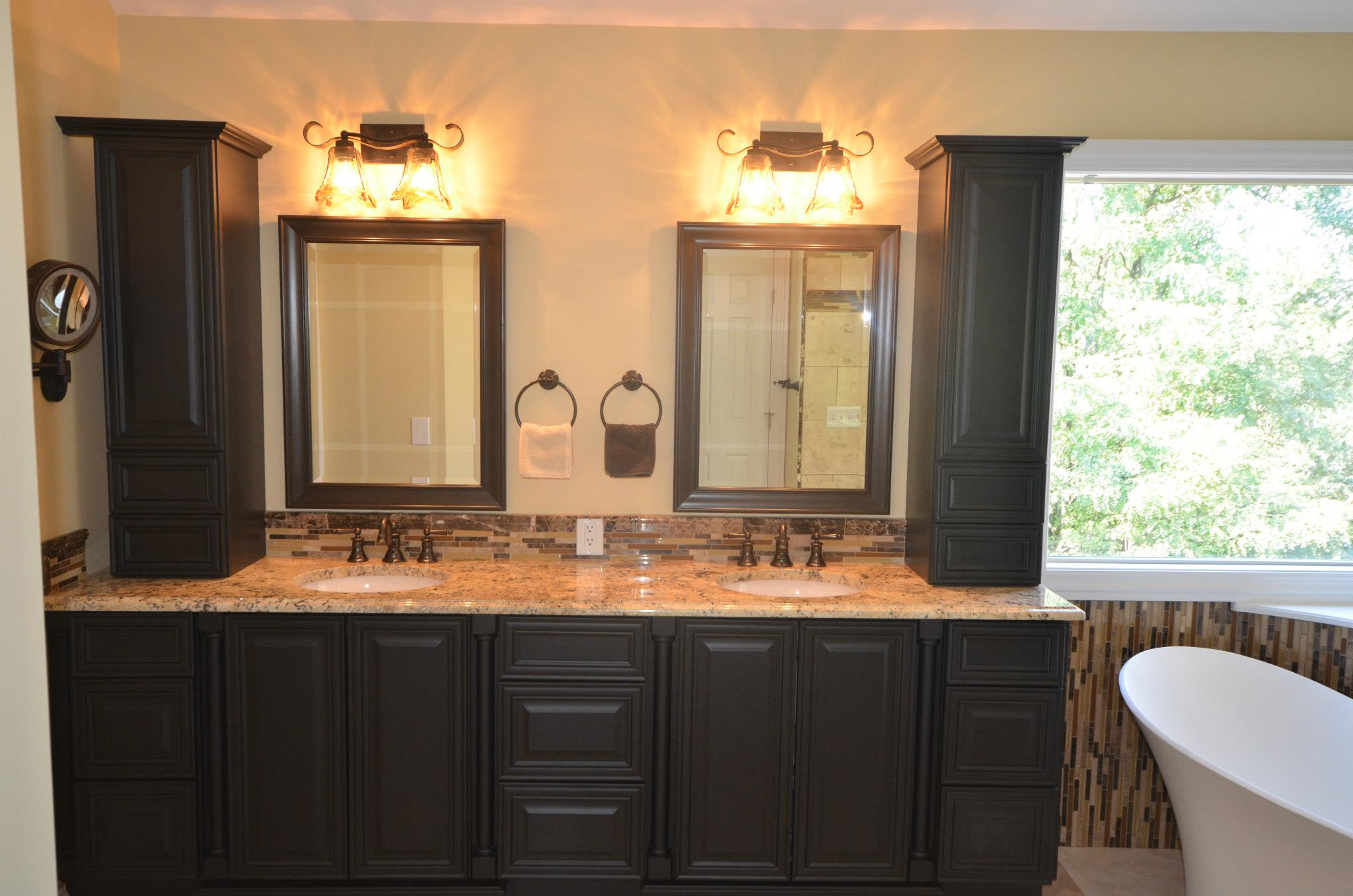 Tips for organizing your bathroom vanity luxury bath
