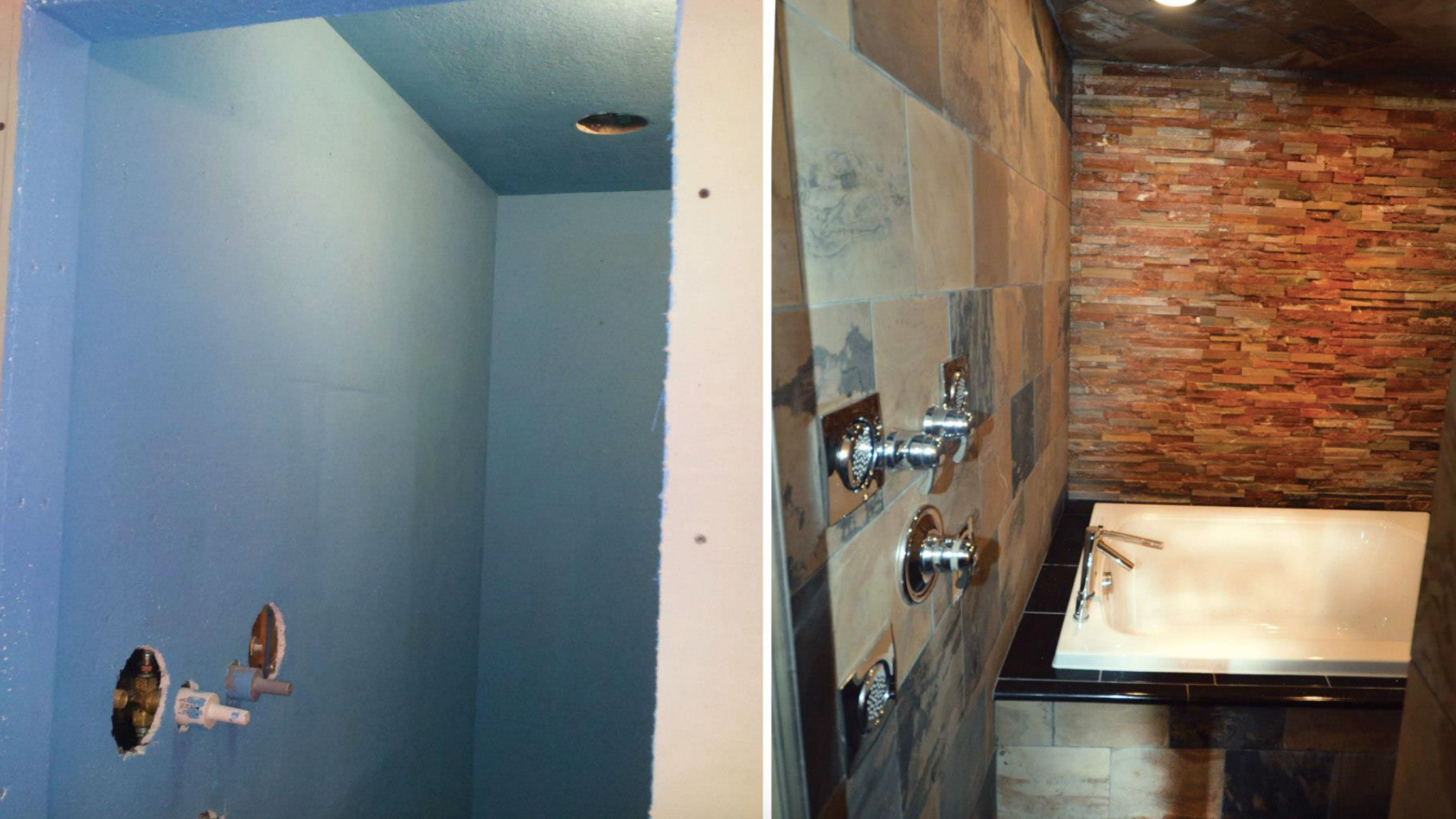 Take the fear out of your bathroom renovation luxury for D i y bathroom renovations