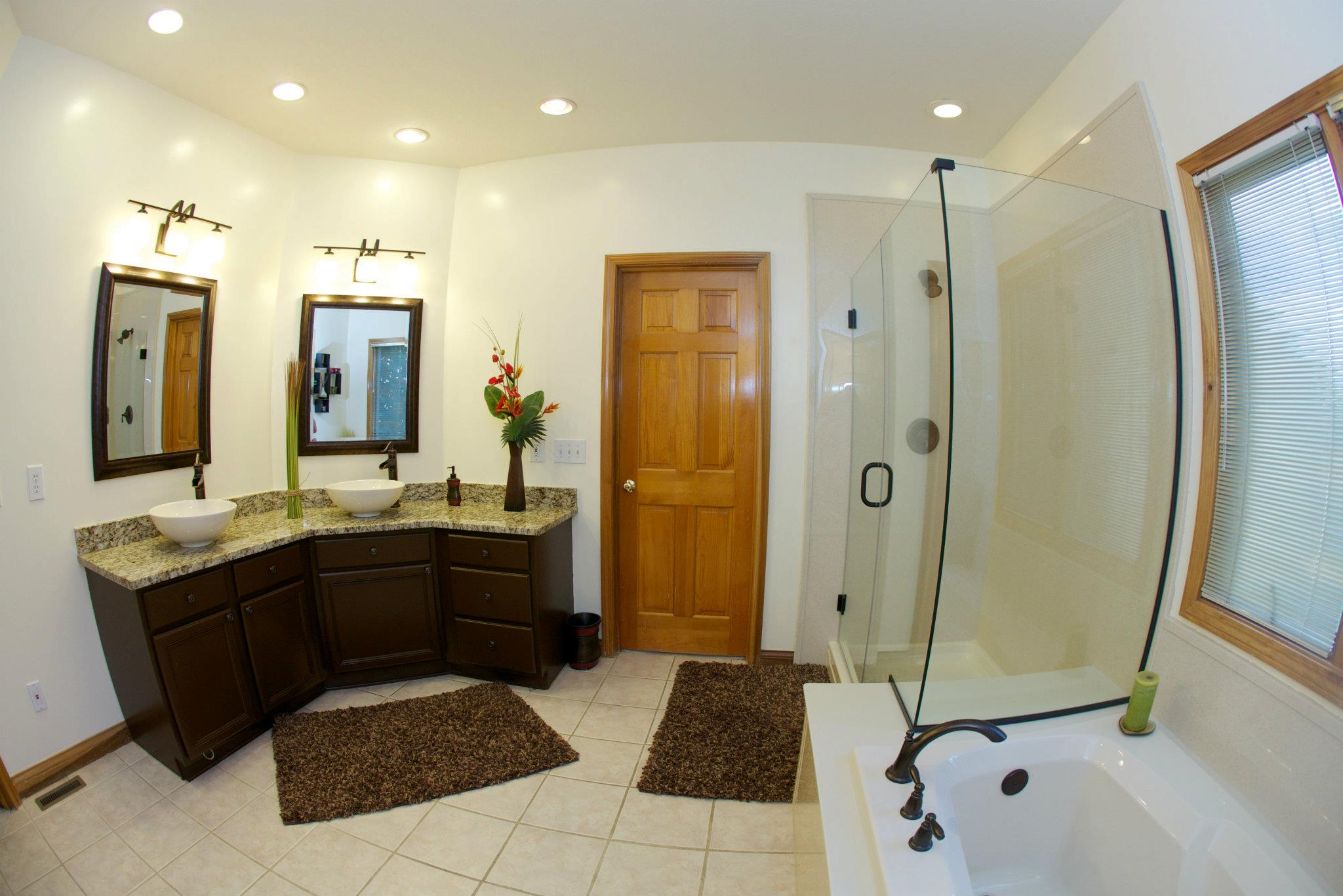 Wide Angle Bathroom Shot