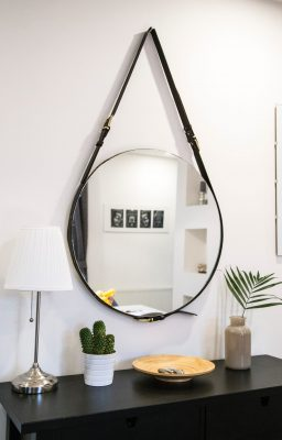 contemporary bathroom mirror