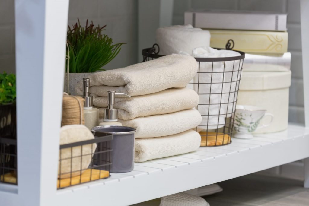 Organization And Storage Ideas for Small Bathrooms-shutterstock_560975488-1024x683